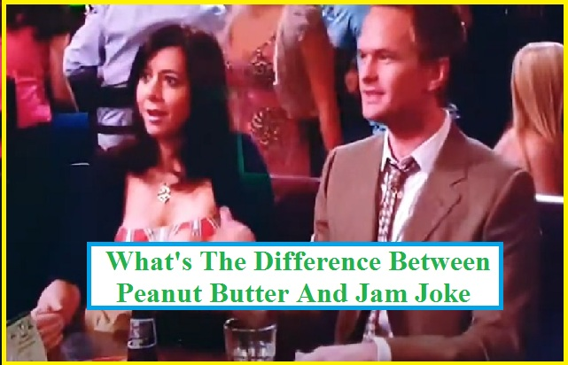 What's the difference between peanut butter and jam joke